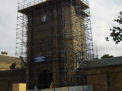 Large Structure Scaffold