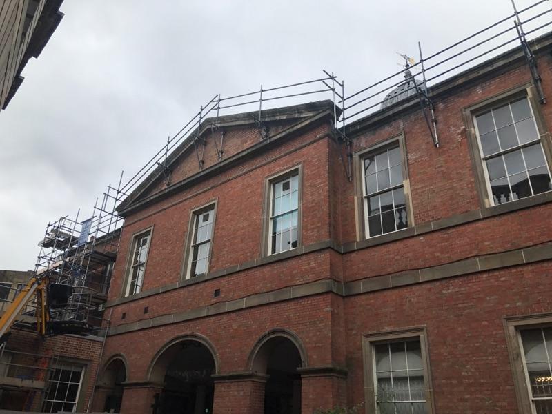 Scaffolding in Derby